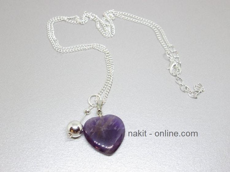 ametist, ogrlica ametist, kristali ametist, ametist kamen, ametist značenje, ametist upotreba svojstva, ametist nakit, ametist prodaja