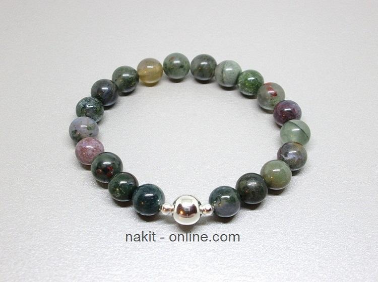 indijski ahat, poludrago kamenje, energetski nakit, kristali, bioenergija, drago kamenje, nakit, narukvice